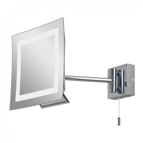 Зеркало косметическое настенное с подсветкой и с увеличением А0485 в интернет-магазине ROSESTAR фото