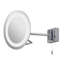 Зеркало косметическое настенное с подсветкой и с увеличением A0488