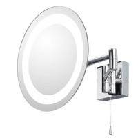 Зеркало косметическое настенное с подсветкой и с увеличением А0356