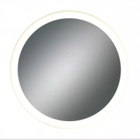 Круглое зеркало с LED подсветкой Арена Тёплый свет