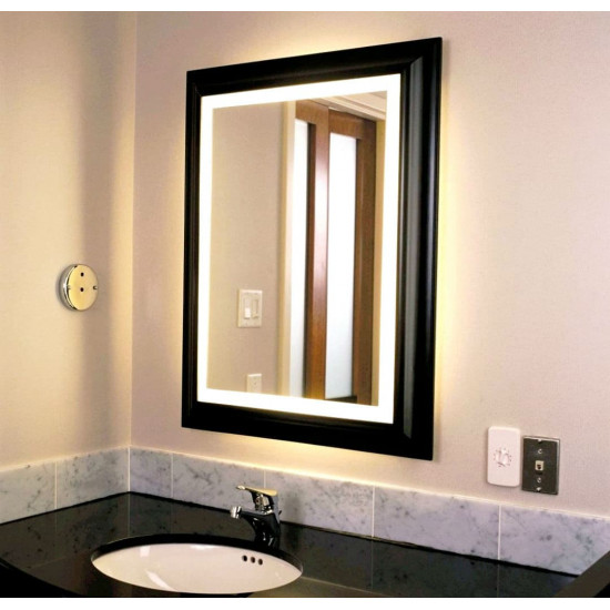 Зеркало в раме с LED подсветкой Boston в интернет-магазине ROSESTAR фото