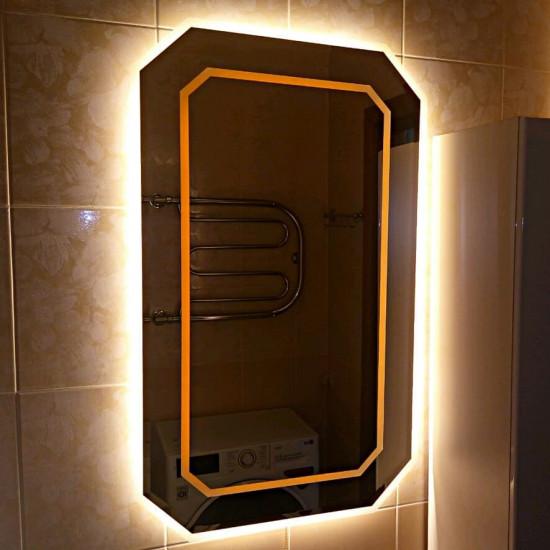 Зеркало с подсветкой и фацетом Adelina   в интернет-магазине ROSESTAR фото