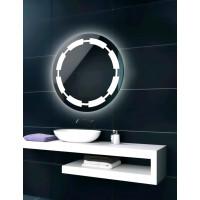 Круглое зеркало с LED подсветкой Кросби