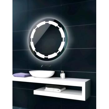 Круглое зеркало с LED подсветкой Crosby