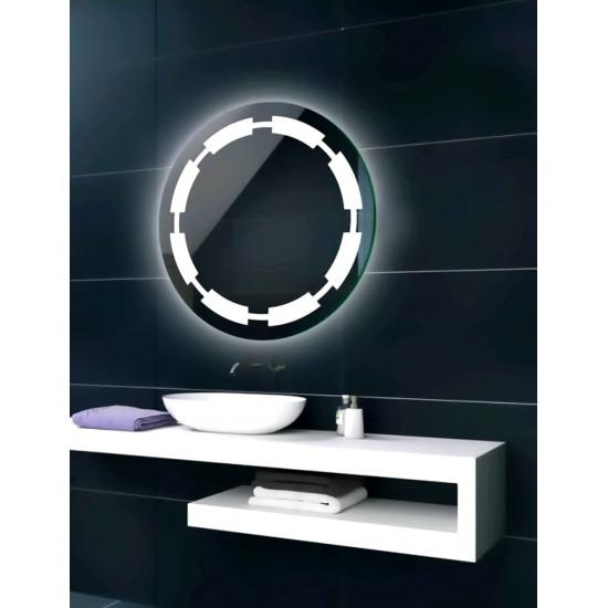 Круглое зеркало с LED подсветкой Crosby в интернет-магазине ROSESTAR фото