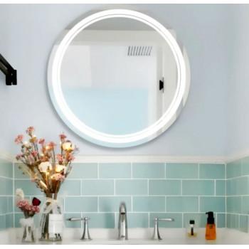 Круглое зеркало с LED подсветкой Сэмми