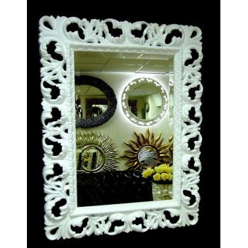 Зеркало в раме «Ингрид» Белый лак
