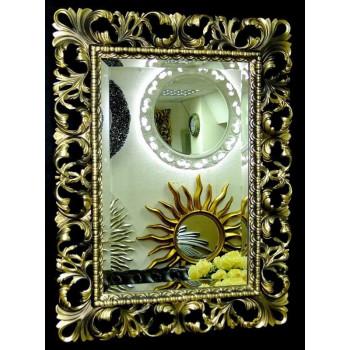 Зеркало в раме «Ингрид» Бронза