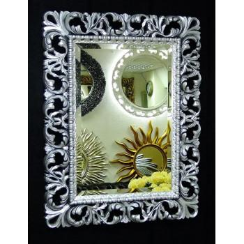 Зеркало в раме «Ингрид» Чернёное Серебро