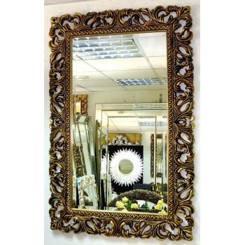 Зеркало в раме «Виола» Чернёное Золото