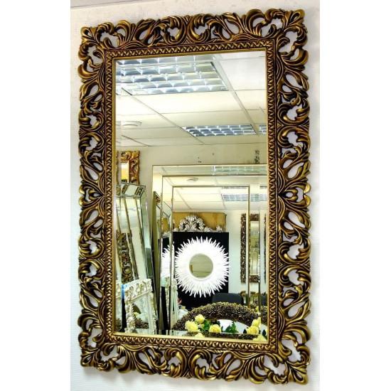 Зеркало в раме «Виола» Чернёное Золото в интернет-магазине ROSESTAR фото