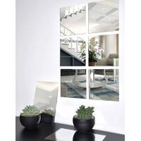 Зеркальное панно из шести квадратных зеркал