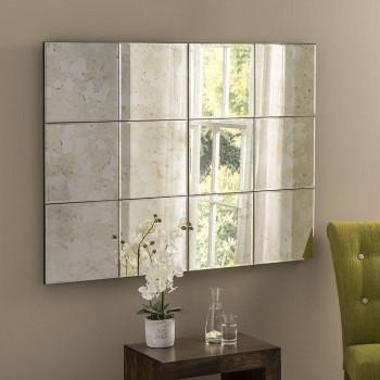Винтажное зеркальное панно из состаренного зеркала в ассортименте