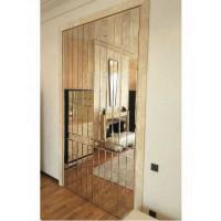 Зеркальный декор для дверей Saturno
