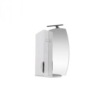Зеркало со шкафом, полочкой и подсветкой «Аква RS-01»