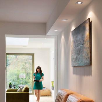Встраиваемый светильник Taro Square Adjustable Fire-Rated 1240029